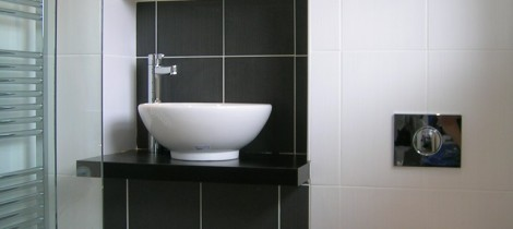 Wash bowl and wall hung WC pan